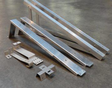 zonne-energie montageonderdelen de roos metaalwerken