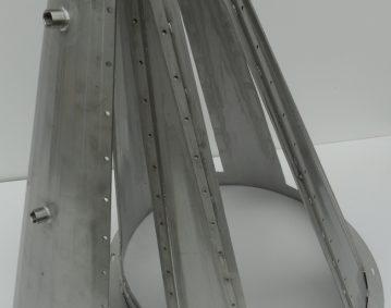 Trechter met afneembare panelen De Roos