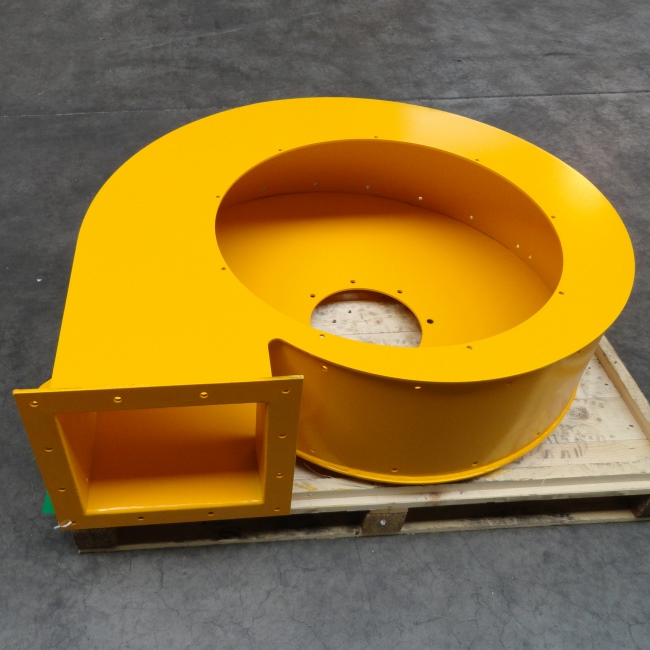 centrifugaal ventilator behuizing De Roos